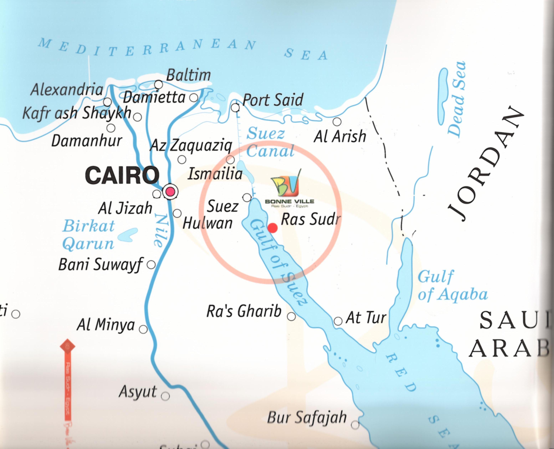 خريطة راس سدر
